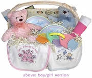 Twins Welcome Gift Basket