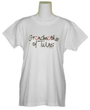 Grandmother of Twins T-Shirt