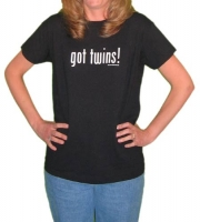 Got Twins Womens T-Shirt