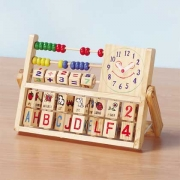 Wood Toy Clock