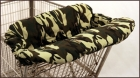Camo Double Shopping Cart Cover