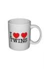 I Heart Twins Coffee Mug