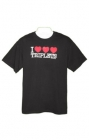 I Heart Triplets Mens T-Shirt