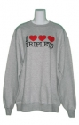 I Heart Triplets Womens Sweatshirt