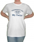 Property of My Twins Womens T-Shirt
